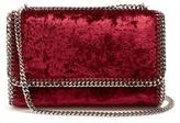 Stella McCartney Falabella mini velvet shoulder bag