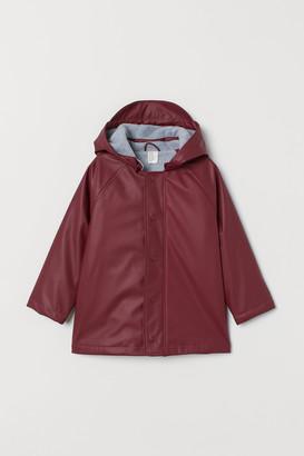 H&M Fleece-lined Rain Jacket