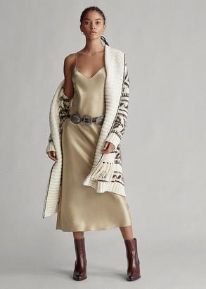 Ralph Lauren Satin Slip Dress