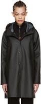Stutterheim Black Mosebacke Raincoat