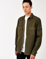 The Hundreds Fatigue Woven Shirt Green