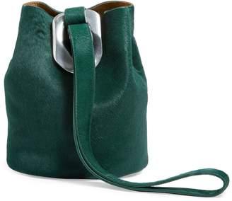 Bottega Veneta Calfskin Hair Drop Bag