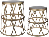 A&B Home A & B Home Set Of 2 Accent Tables