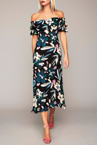 Stone_Cold_Fox Stone Cold Fox Black Floral Gown