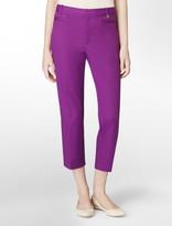 Calvin Klein Skinny Fit Cropped Pants