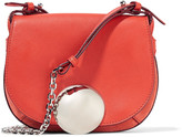 Emilio Pucci Leather and suede shoulder bag