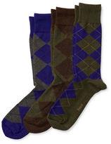 Polo Ralph Lauren Argyle Socks- Set Of 3