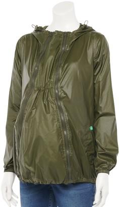 Modern Eternity Maternity 3-in-1 Waterproof Windbreaker Jacket