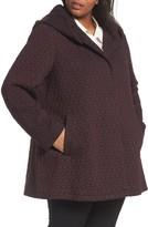 Gallery Plus Size Women's Cozy Knit Coat