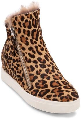 Dolce Vita Casper Faux Fur Lined Wedge Sneaker Boot
