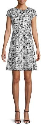 Alexia Admor Dot-Print Mini Dress