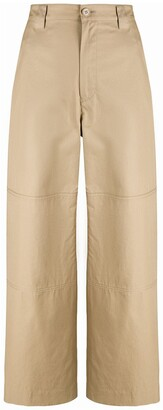 MM6 MAISON MARGIELA Cropped Cargo Trousers