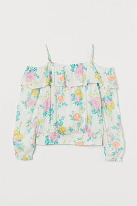 H&M Cold shoulder blouse
