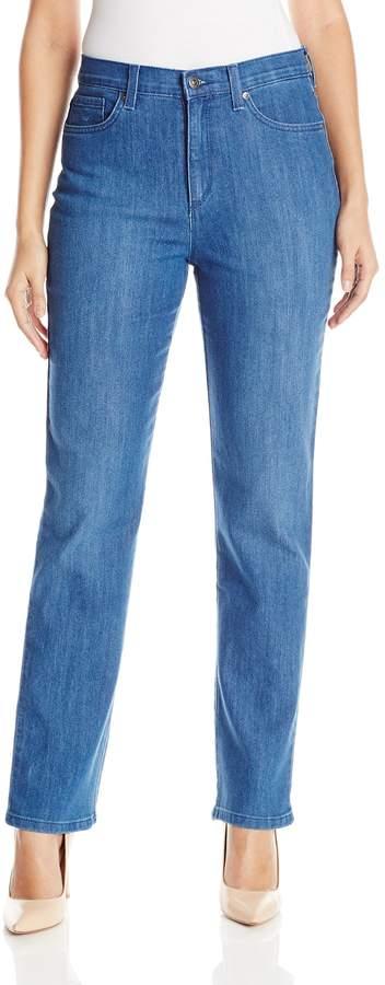 Gloria Vanderbilt Women's Amanda Stretch Denim Straight Leg Jean