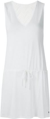 Track & Field Lace Panel Short Dress