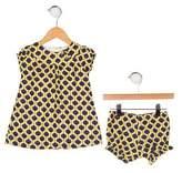 Baby CZ Girls' Printed Dress Set