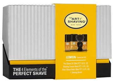 The Art of Shaving 'Lemon' Initiation Kit