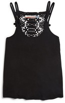Vintage Havana Girls' Lace Back Tank - Sizes S-XL