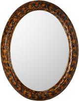 OKA Faux Turtle Shell Mirror