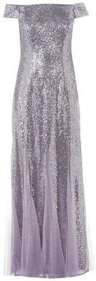 Adrianna Papell Adrianna Bardot Sequin Dress
