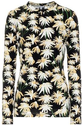 Loewe Floral cotton T-shirt
