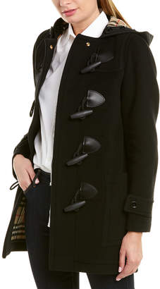 Burberry Wool-Blend Trench Coat