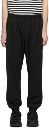 Needles Black and Purple Zipped Lounge Pants