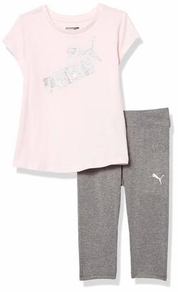 Puma Girls' Tee and Legging Set