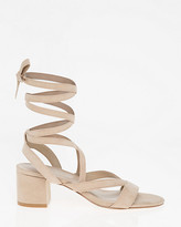 Le Château Lace-Up Open Toe Sandal