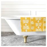 "DENY Designs Heather Dutton Abadi Sunburst Bath Rug Yellow (2""x3"")"