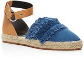 Rebecca Minkoff Vicky Denim Ankle Strap Espadrille Flats- 100% Exclusive