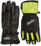 Swix Davos Alpine Leather Racing Gloves - Waterproof, Insulated (For Men)
