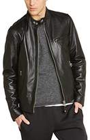Schott NYC Men's Lc 949 Leather Long Sleeve Jacket