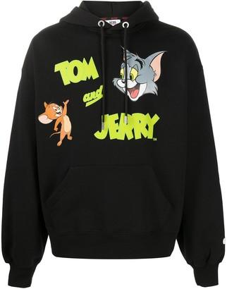 GCDS Tom & Jerry cotton hoodie