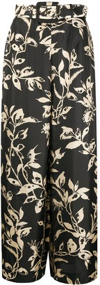 Zimmermann Ladybeetle belted trousers