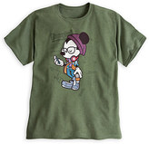 Disney Mickey Mouse ''Happiest Hipster on Earth'' Tee for Adults