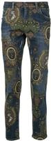 Dolce & Gabbana baroque print jeans