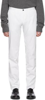 BOSS White Stanino Trousers