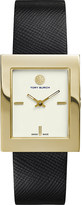 Tory Burch The Buddy Classic gold-toned stainless steel watch