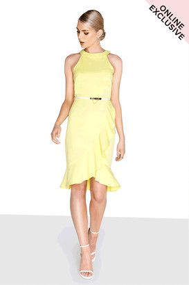 Paper Dolls Outlet Lemon Frill Dress