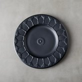 CB2 Rani Black Appetizer Plate