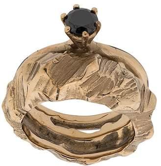 Voodoo Jewels Crystal-embellished ring