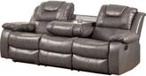 "Hokku Designs Harrison Reclining 84.5"" Pillow top Arm Sofa"