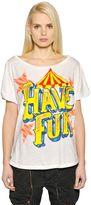 Faith Connexion Hand-Painted Cotton Jersey T-Shirt