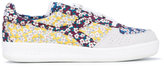 Diadora Elite Liberty floral patch sneakers - women - Cotton/Leather/Suede/rubber - 3.5