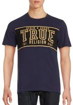 True Religion Cotton Crewneck Printed Tee