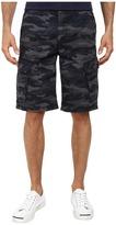 DKNY Mini Ripstop Camo Cargo Shorts in Black