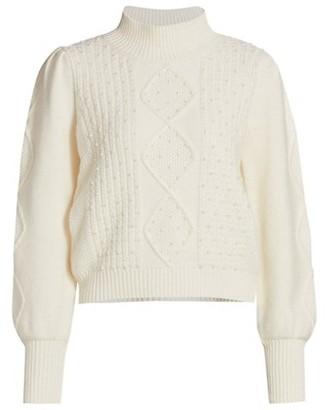 Generation Love Aspen Pearl Embellished Sweater