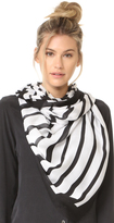 Kate Spade Piano Keys Oblong Scarf