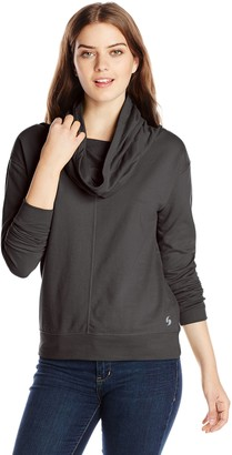 Soffe Women's French Terry Cowl Neck